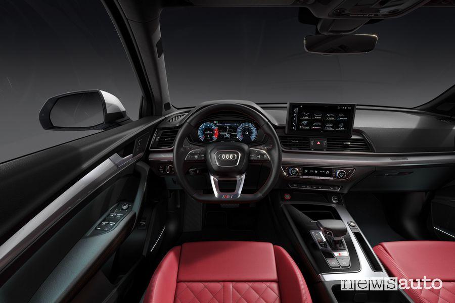 Plancia strumenti abitacolo Audi SQ5 TDI