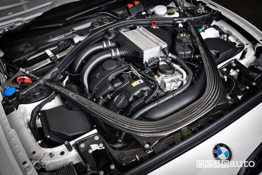 Motore 6 cilindri in linea BMW M2 CS Racing