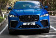 Photo of Nuova Jaguar F-Pace SVR, caratteristiche, scheda tecnica e prezzo