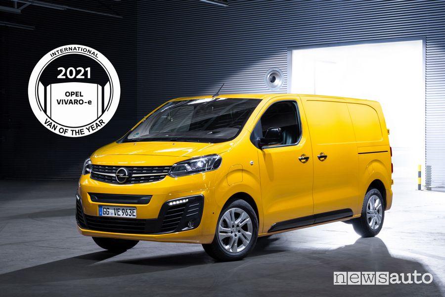 Opel Vivaro-e International Van Of The Year 2021