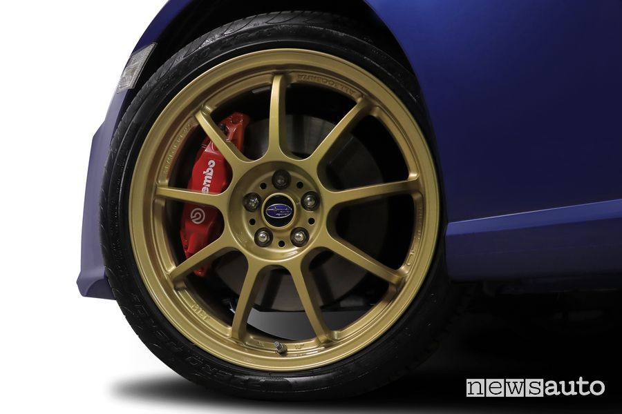 "Cerchi OZ racing Alleggerita da 18"" Subaru BRZ Ultimate Edition"