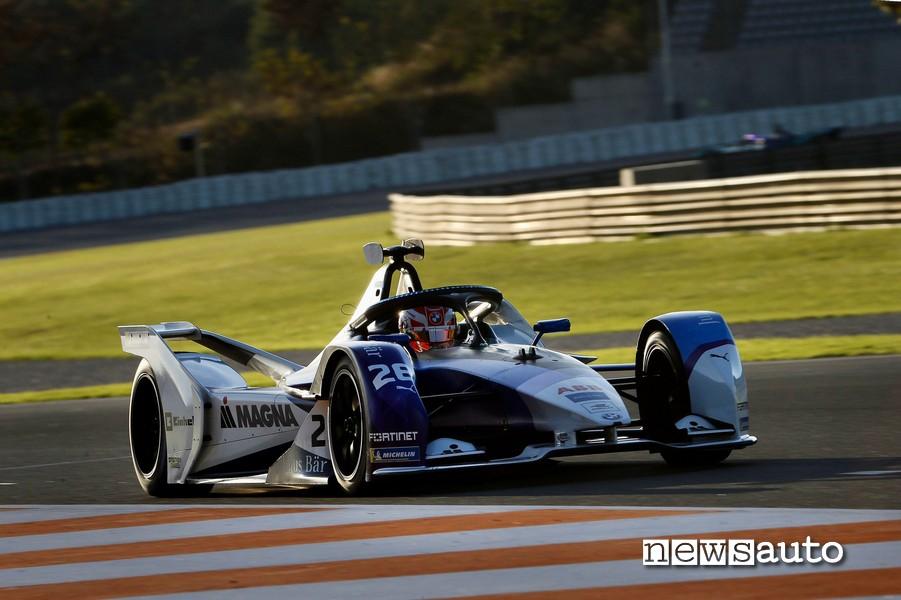BMW Formula E Test Valencia