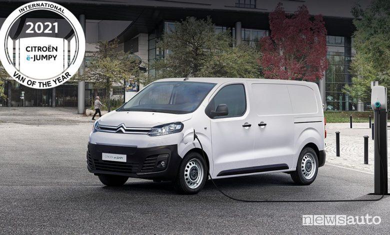 Van of the Year 2021, vincono i veicoli commerciali elettrici PSA
