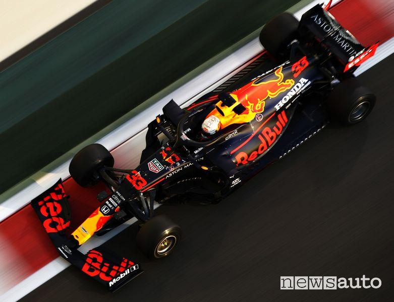 Qualifiche F1 Gp Abu Dhabi 2020 Red Bull Max Verstappen