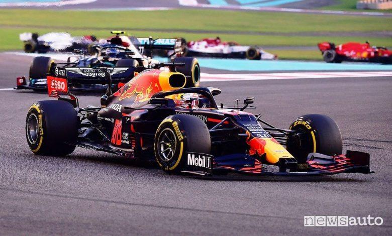 F1 Gp Abu Dhabi, vittoria per Verstappen e la Red Bull Honda