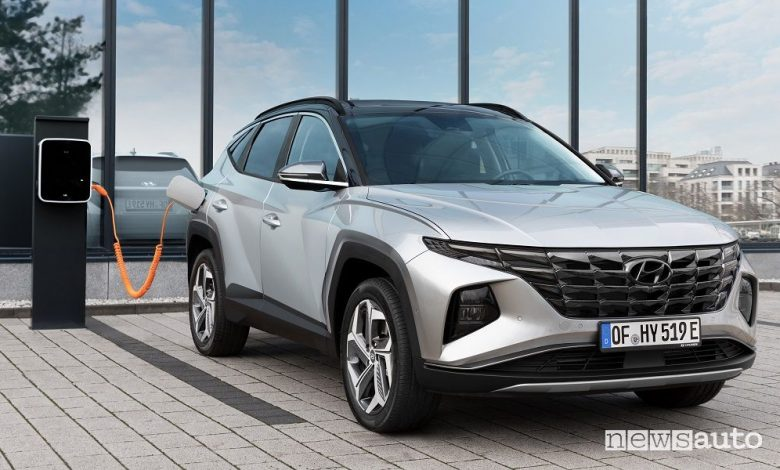 Hyundai Tucson Plug-in Hybrid, caratteristiche