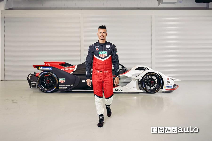 Pascal Wehrlein pilota Porsche Formula E