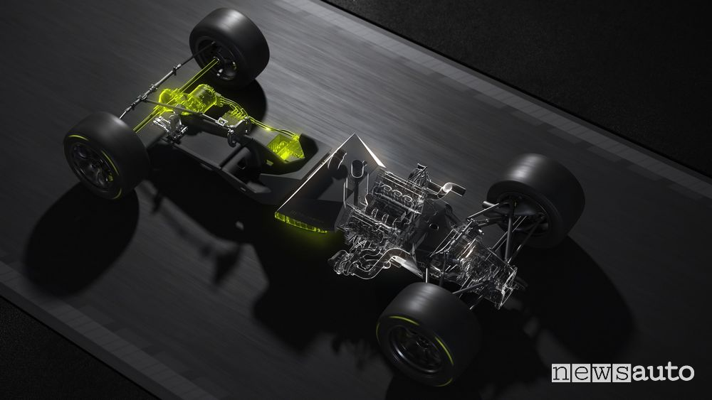 Batteria motore ibrido Peugeot Hypercar Le Mans