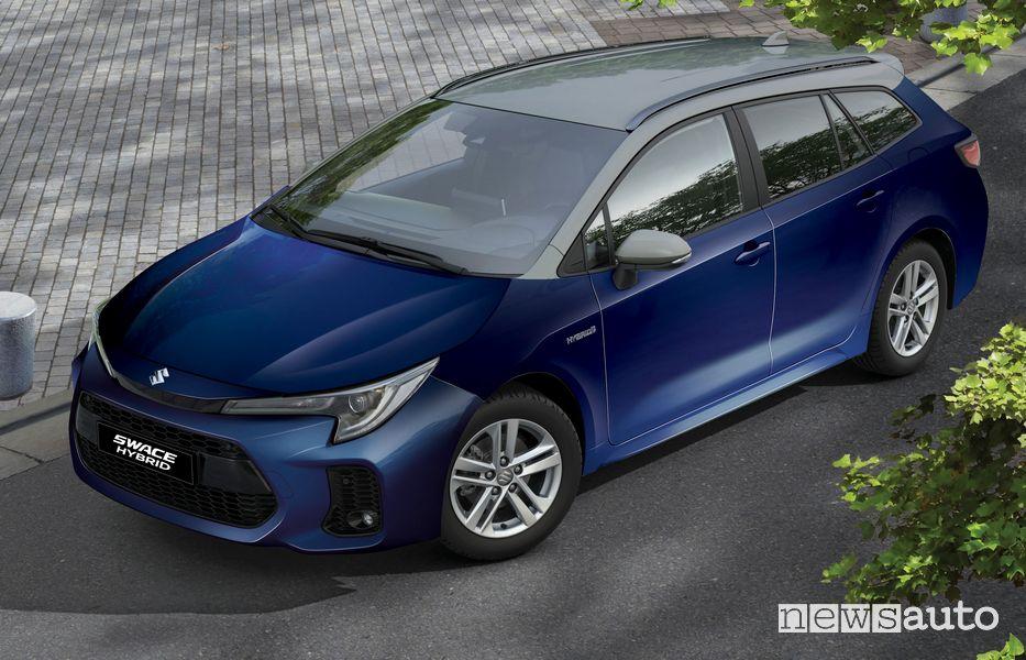 Nuova Suzuki Swace Hybrid Web Edition