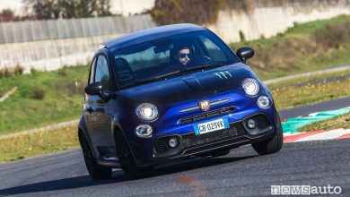 Photo of Abarth 595 Monster Energy Yamaha, provata in pista!
