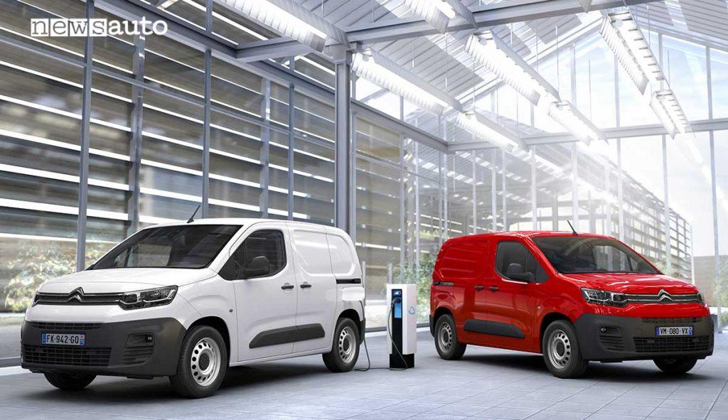 Nuovo Citroën ë-Berlingo Van e Citroën Berlingo