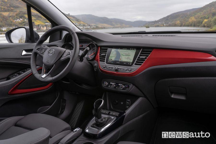 Plancia strumenti abitacolo nuova Opel Crossland