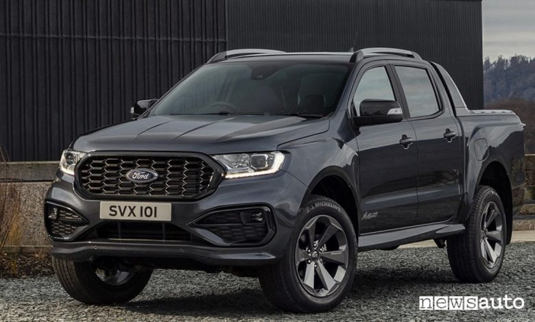 Nuovo Ford Ranger allestimento MS-RT
