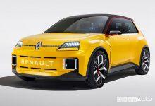 Vista di profilo Renault 5 Prototype