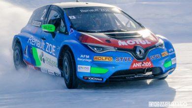 Photo of Gare sul ghiaccio per auto elettriche, e-Trofeo Andros con la Renault Zoe Glace
