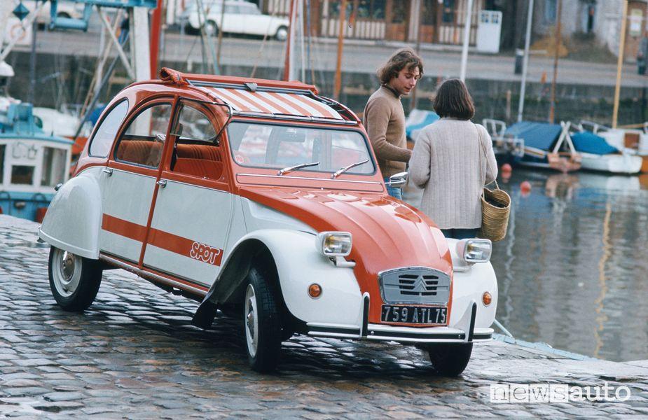 La Citroën 2CV Spot fu prodotta in 1.800 esemplari