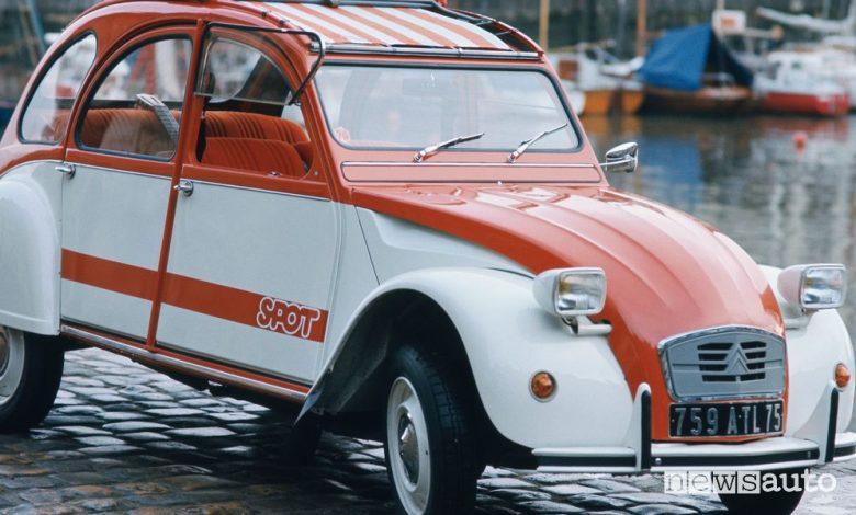 Citroën 2CV Spot, la storia della serie limitata