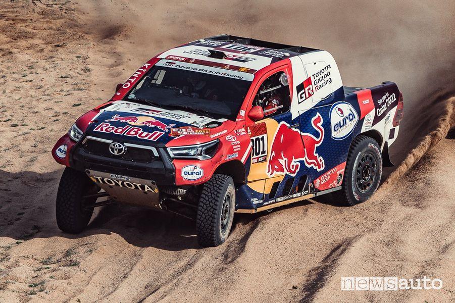 Nasser Al-Attiyah su Toyota alla Dakar 2021