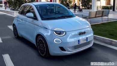 Photo of Auto elettrica più venduta, Fiat nuova 500 la preferita degli italiani