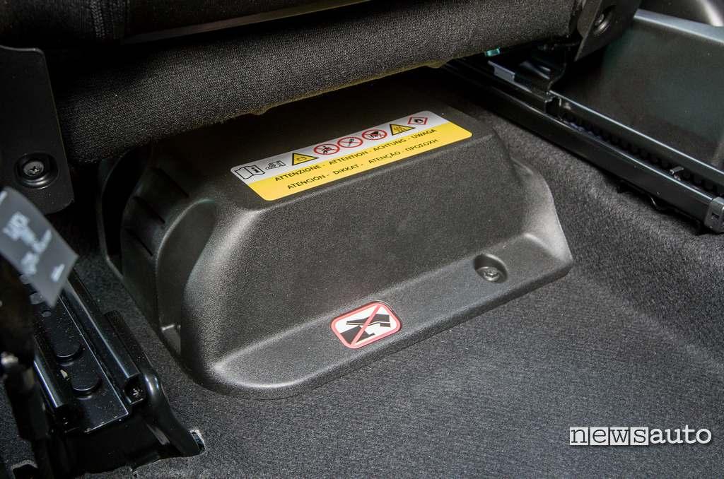 batteria agli ioni di litio del sistema ibrido Lancia Ypsilon Hybrid