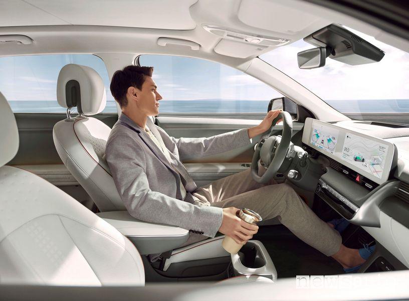 Alla guida della nuova Hyundai Ioniq 5