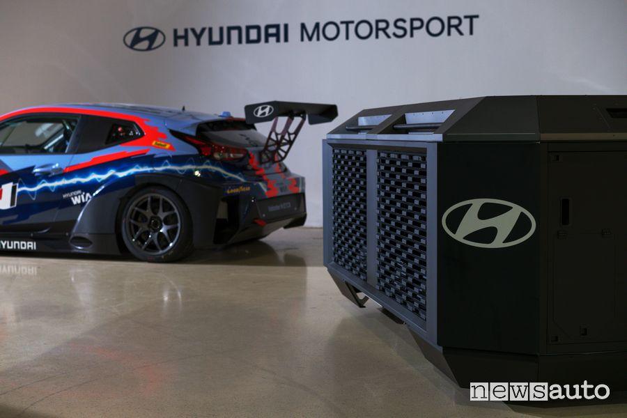 Generatore di ricarica ad idrogeno per Hyundai Veloster N ETCR