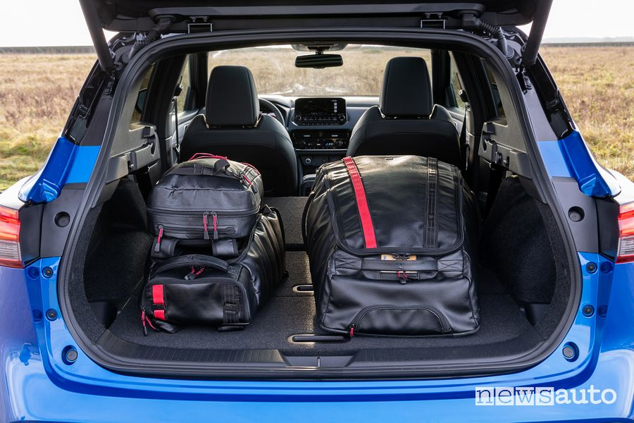 Bagagliaio abitacolo nuovo Nissan Qashqai