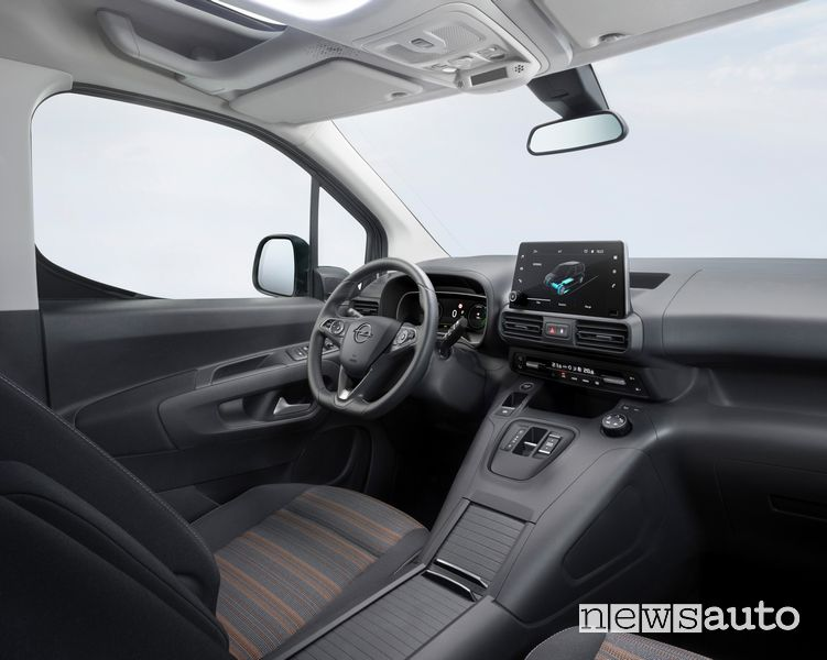 Abitacolo Opel Combo-e Life