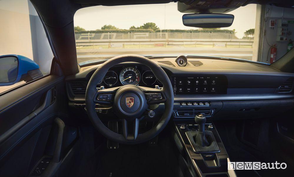 Plancia strumenti abitacolo nuova Porsche 911 GT3