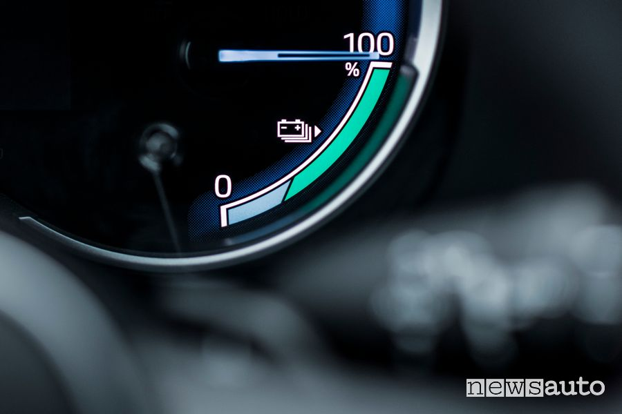 Indicatore carica batteria quadro strumenti Toyota Rav4 Plug-in Hybrid
