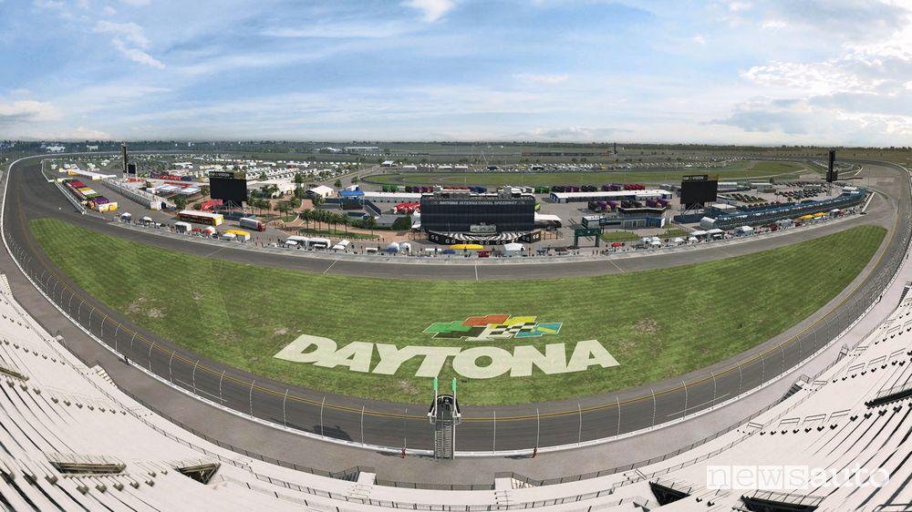 Il Circuito di Daytona si trova in Florida