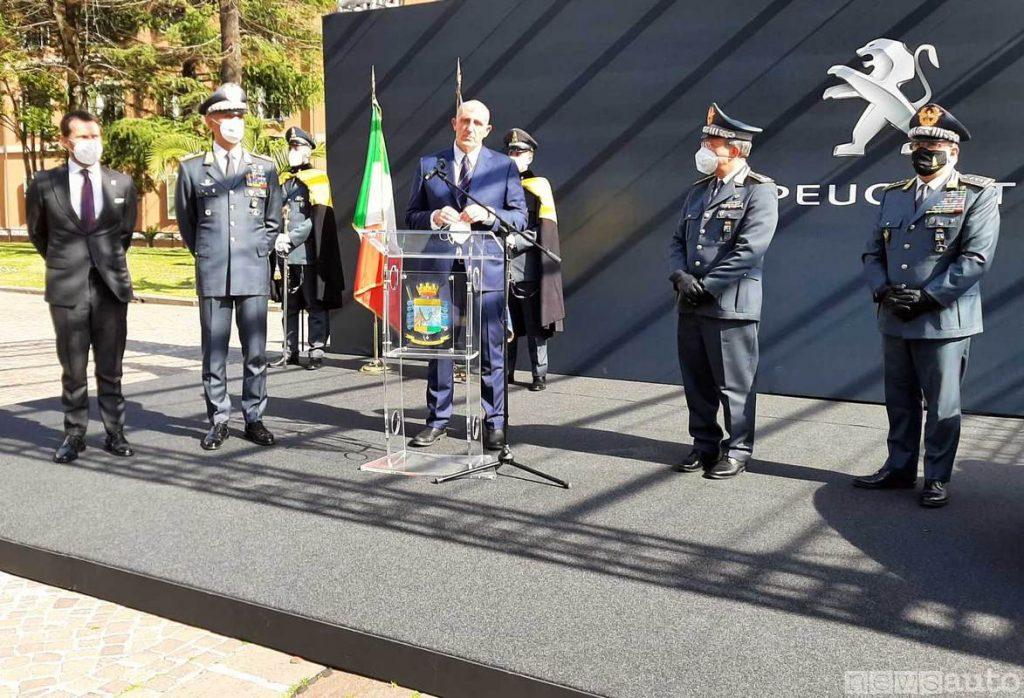 L'ing. Gaetano Thorel CEO PSA Italy e Senior Vice President - Groupe PSA