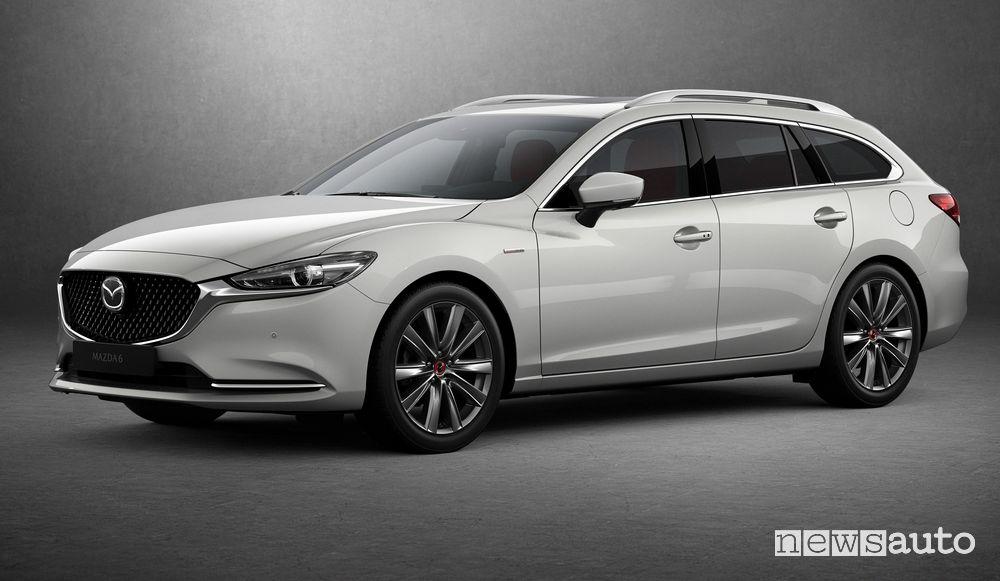 Mazda6 2021 station wagon serie speciale 100th Anniversary