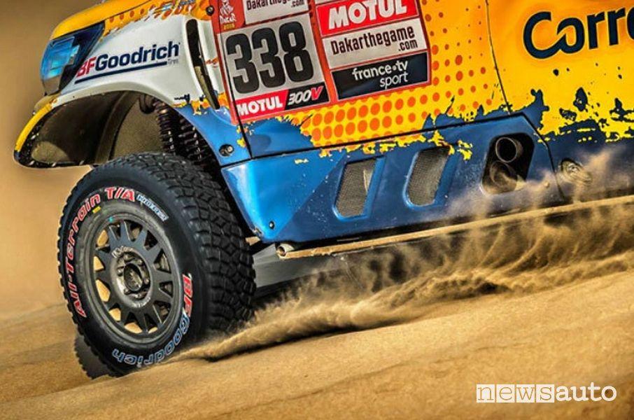 BFGoodrich All Terrain pneumatici che si usano alla Dakar