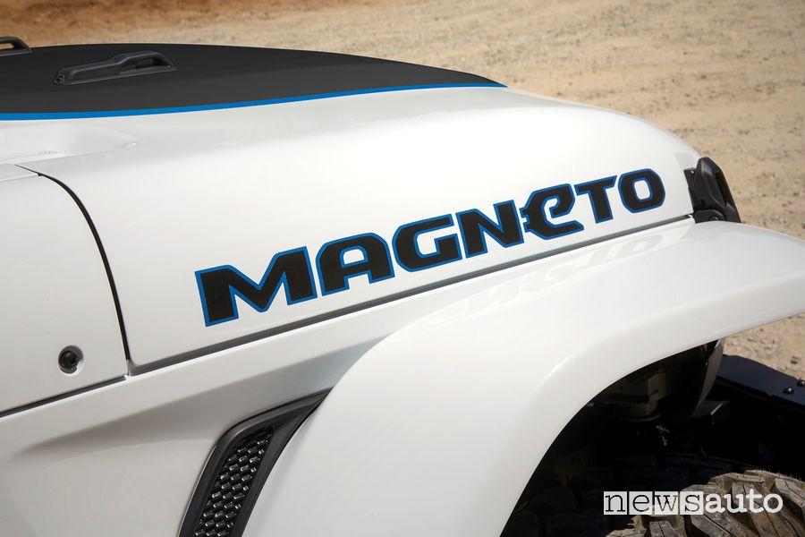 Cofano anteriore Jeep Magneto BEV concept elettrico