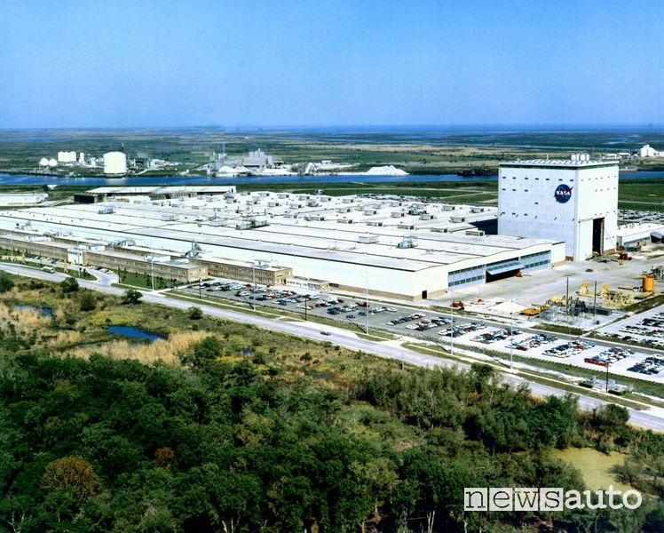 4) Fabbrica NASA 3,4 km²
