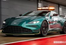 Photo of Safety car F1 Aston Martin, caratteristiche