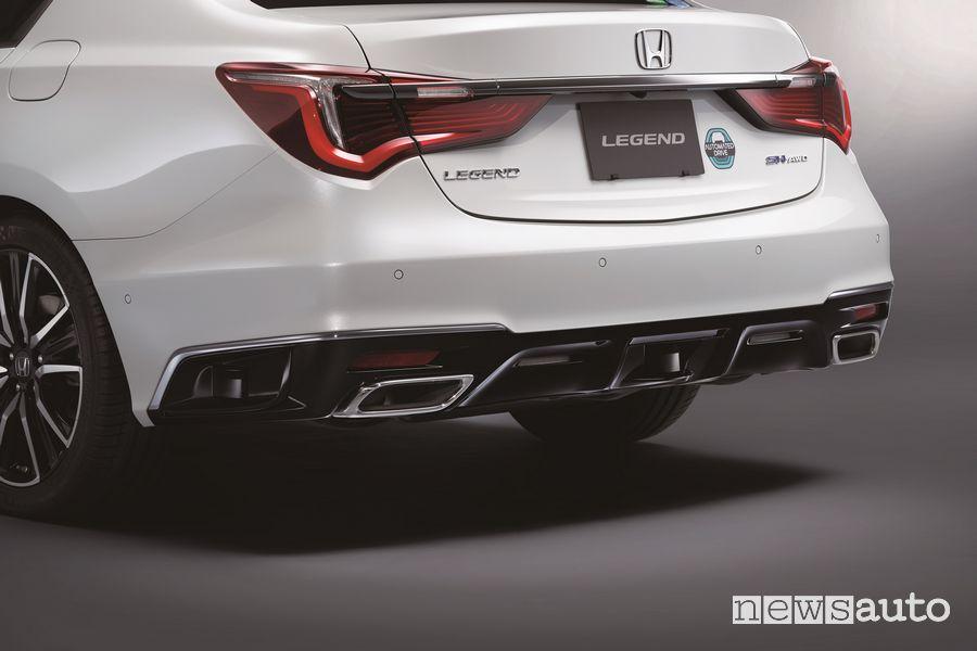 Honda SENSING Elit di guida autonoma di livello 3 come funziona