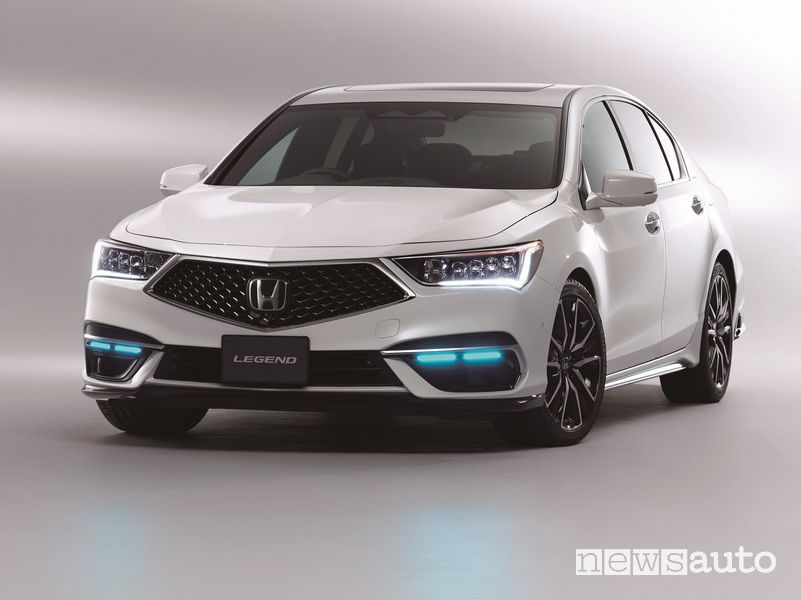 Honda SENSING Elit di guida autonoma di livello 3