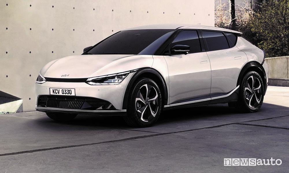Nuova Kia EV6 elettrica
