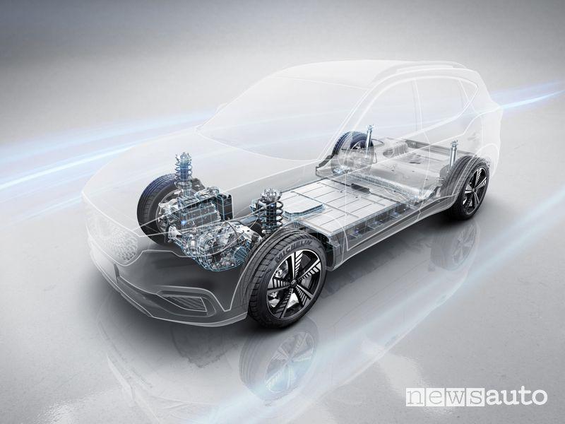 Batteria al litio MG ZS EV SUV elettrico