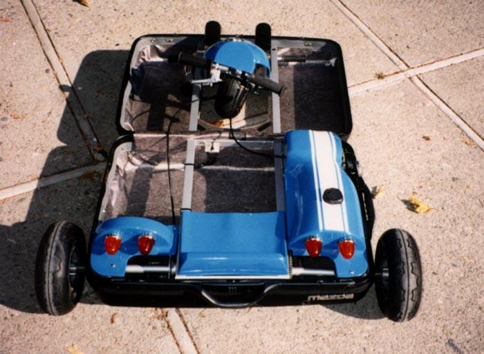 Altra versione della valigia motorizzata Mazda