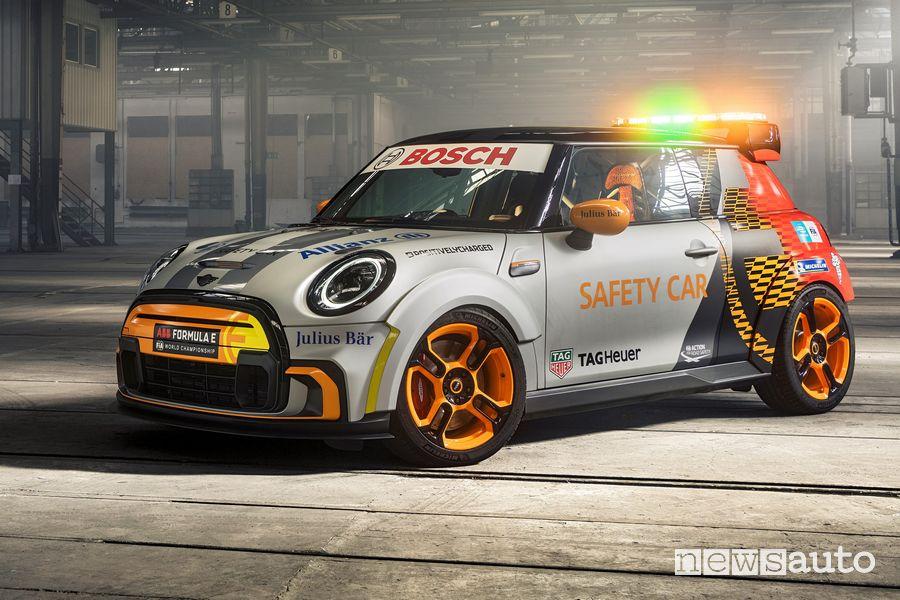 MINI Electric Pacesetter safety car Formula E