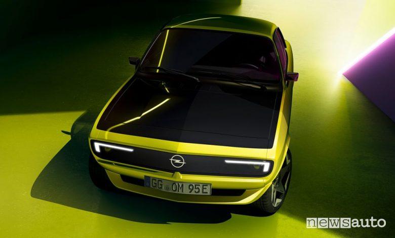 "Opel Manta elettrica, la GSe ElektroMOD con ""restomod"""