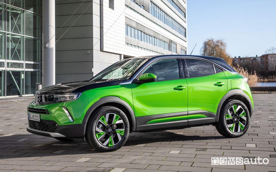 Opel Mokka-e elettrica