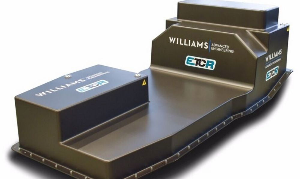 Batteria ETCR Williams Advanced Engineering