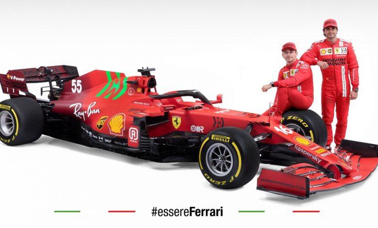 Ferrari SF21, le caratteristiche della nuova F1 2021