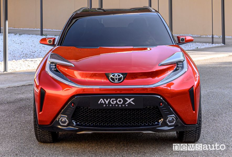 Frontale Toyota Aygo X prologue concept