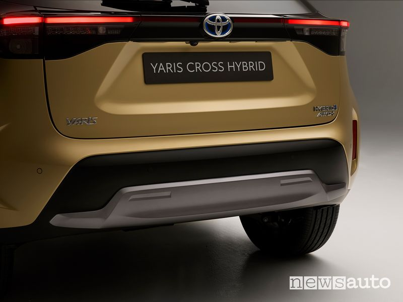 Paraurti posteriore Toyota Yaris Cross Premiere Edition