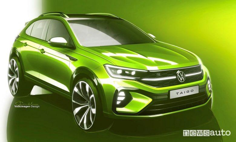 Volkswagen Taigo, anteprima del nuovo SUV Coupé compatto